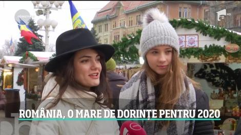 România, o mare de dorinţe pentru 2020