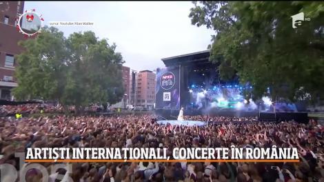 Concertele anului 2020! Ce artiști internaționali vor urca pe scenele din România