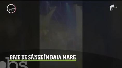 Petrecerea de Revelion s-a terminat într-o baie de sânge, într-un club din Baia Mare