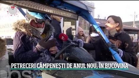 Petreceri câmpenești de Anul Nou, în Bucovina