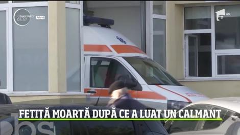 Fetiţă de 10 ani din judeţul Dâmboviţa, moartă după ce a luat un calmant pentru o durere de cap