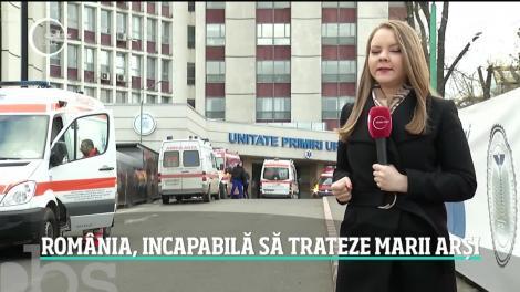 România, incapabilă să trateze marii arși. Un tânăr care a suferit arsuri pe jumătate din corp a fost transferat în Austria abia după trei zile