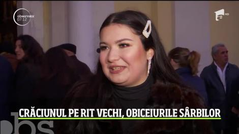 Crăciunul pe rit vechi, obiceiurile sârbilor