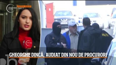 Gheorghe Dincă, audiat din nou de procurori la sediul DIICOT
