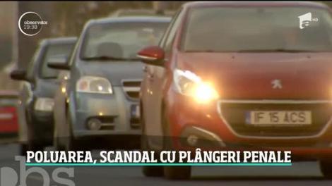 Poluarea, scandal cu plângeri penale