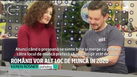 Românii au pretenţii tot mai mari la locul de muncă. Cum arată jobul ideal pentru tineri în anul 2020