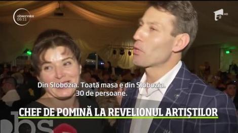 Chef de pomină la Târgu Jiu! Cei mai îndrăgiţi artişti de muzică populară au sărbătorit Revelionul