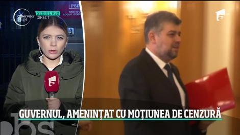 PSD intră în jocul anticipatelor şi anunţă că depune moţiune de cenzură împotriva Guvernului Orban