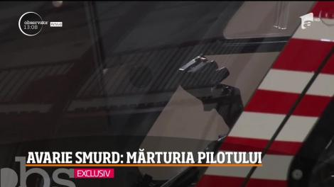 Elicopterul SMURD, întors de urgenţă la Cluj-Napoca, va fi experizat pentru a stabili dacă se poate întoarce în misiuni