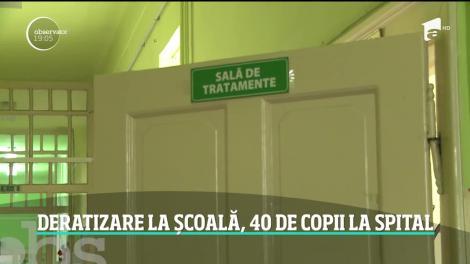 Deratizarea mortală de la Timişoara a fost la un pas să se repete într-o şcoală din Arad, unde zeci de copii s-au intoxicat