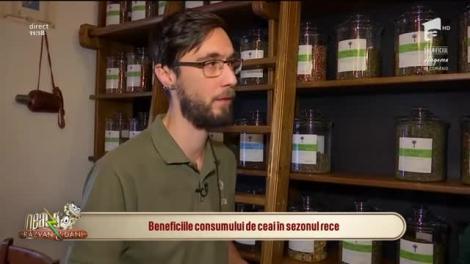 Neatza cu Răzvan și Dani. Beneficiile consumului de ceai în sezonul rece