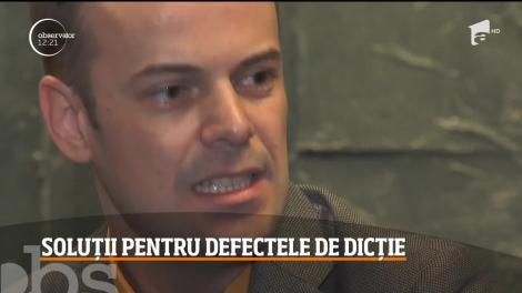Soluții pentru defectele de dicție! Bogdan Iancu, actorul din Fructul Oprit ne arată câteva trucuri