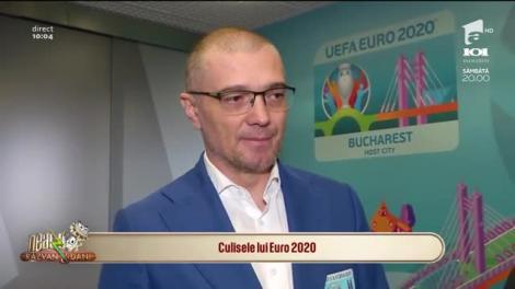Neatza cu Răzvan și Dani. Culisele lui Euro 2020! Pe Arena Națională sunt programate patru meciuri din Campionatul European de Fotbal