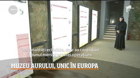 Unicul Muzeu al Aurului din Europa se află în judeţul Gorj, în apropiere de Mănăstirea Tismana!