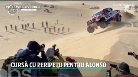 Cel mai iubit pilot de Formula 1 a trecut prin momente de groază la Dakar