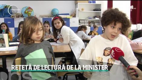 Ministerul Educaţiei lansează un proiect dedicat încurajării lecturii în şcoală