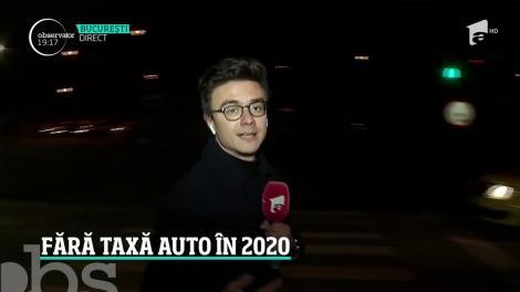 Guvernul nu va introduce taxa auto în 2020