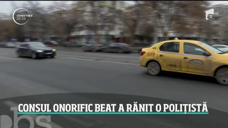 Consulul Onorific al Serbiei a fost încătuşat de agenţii de la rutieră, la Piteşti
