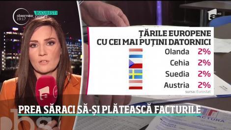 România, codaşă în Europa la plata facturilor la utilităţi. Suntem pe locul patru în topul restanţierilor