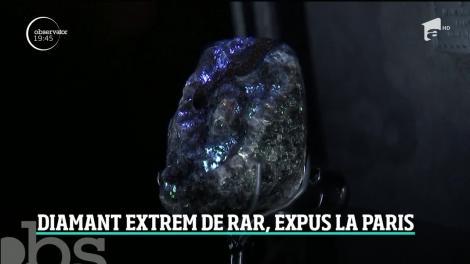 Al doilea cel mai mare diamant din istorie, de mărimea unei mingi de tenis, expus la Paris