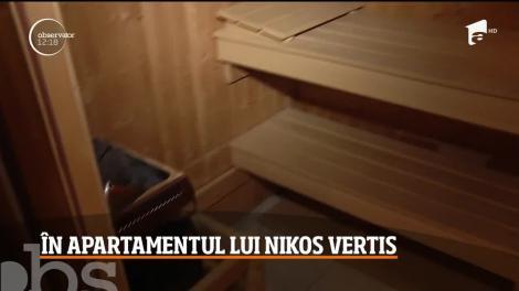 Nikos Vertis, în curând în România. Cum arată apartamentul în care va sta
