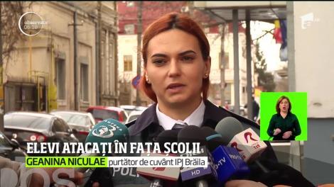 Val de tâlhării într-un liceu din Brăila. Un elev de 16 ani a fost înjunghiat în picior sub ochii paznicului, pentru bani și țigări