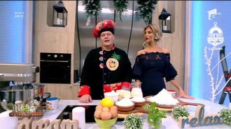 Rețeta Zilei - Neatza cu Răzvan şi Dani: Plăcinta Unirii