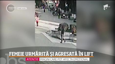 Femeie din Botoşani urmărită și agresată în lift
