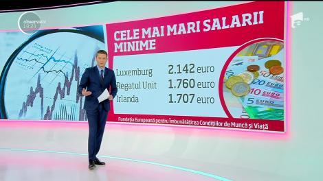Topul salariilor din Uniunea Europeană. Românii şi bulgarii, la coada clasamentului. Unde se câștigă cel mai bine?