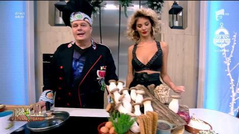 Rețeta Zilei - Neatza cu Răzvan şi Dani. Pădurea mea, un preparat pe bază de ciuperci