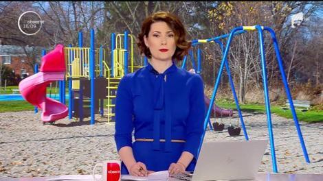 Trei tineri au fost surprinşi în timp ce vandalizau un parc din Brăila