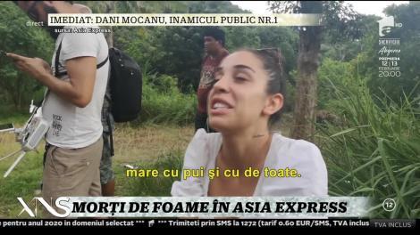 """Primele imagini de la Asia Express, sezonul 3. Concurenții, oripilați de mâncare: """"Nu le-am încerca. Fac grătar din sânge închegat!"""""""