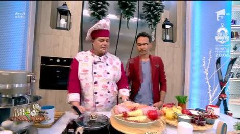 Rețeta Zilei - Neatza cu Răzvan şi Dani. Friptură de curcan în stil american, un preparat absolut delicios
