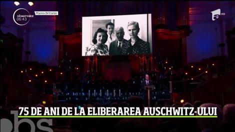 75 de ani de la eliberarea lagărului de la Auschwitz