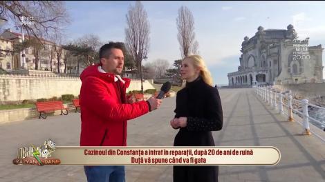 După 20 de ani de ruină, Cazinoul din Constanța a intrat în reparații. Când își va redeschide porțile