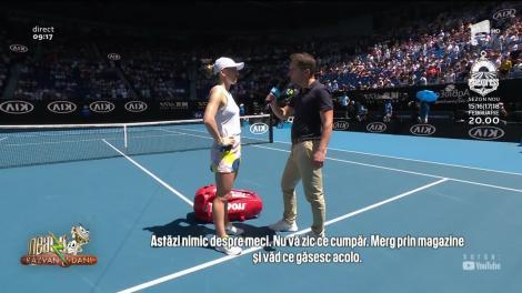 Neatza cu Răzvan și Dani. Simona Halep, în semifinalele Australian Open. Imagini spectaculoase