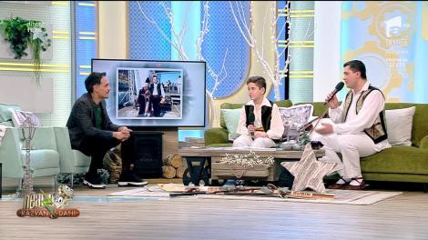 Neatza cu Răzvan și Dani. Gelu Voicu, duet inedit cu fiul său, Tudor: Îmi doresc să mă depășească, e dorința mea cea mai mare