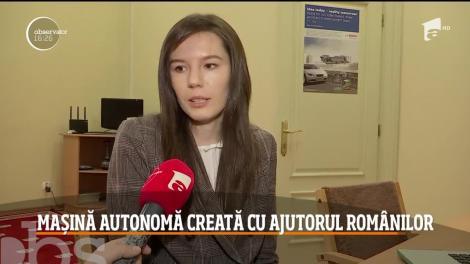 12 români din Cluj-Napoca au contribuit la crearea primei maşini autonome destinată condusului urban!