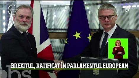 Zi istorică în inima Europei. Marea Britanie se desparte de Uniunea Europeană