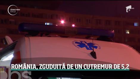 Coşmarul românilor a devenit realitate noaptea trecută: un cutremur de 5,2 a zguduit ţara!