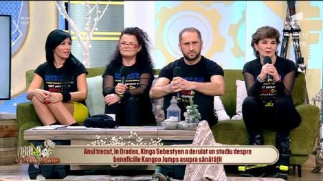 Neatza cu Răzvan și Dani. România a intrat în Cartea Recordurilor cu cea mai mare oră de Kangoo Jumps din istorie