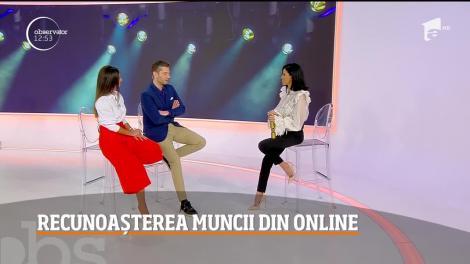 Adelina Pestrițu a primit, la Los Angeles, trofeul celui mai iubit influencer român