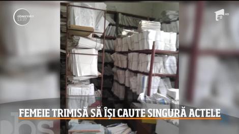 Femeie din Constanţa, nevoită să-şi caute singură documentele oficiale pentru a dovedi în instanţă că are dreptul să fie încadrată pentru o pensie mai mare
