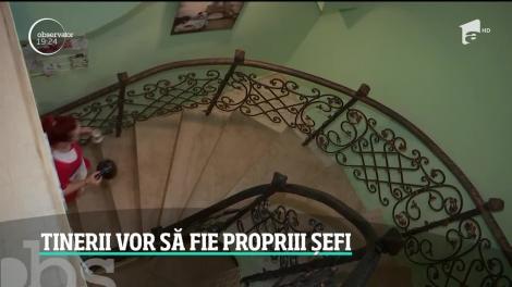 Tot mai mulţi români vor să fie propriii şefi