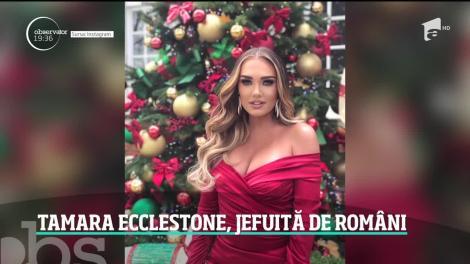 Doi români, mamă şi fiu, au jefuit-o pe Tamara Ecclestone, una dintre cele mai bogate femei din Marea Britanie! Ce au furat de la bomba sexi care a băgat bărbați în boală - VIDEO