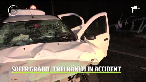 S-a certat cu soția și a rănit oameni pe șosea! A izbit o mașină condusă de un preot! Imagini tulburătoare! VIDEO