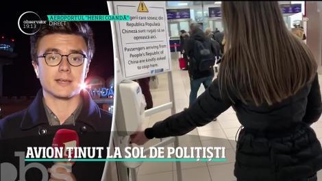 Poliţiştii de frontieră au oprit un zbor, după ce au aflat că la bord se află un individ fără drept de a intra în România
