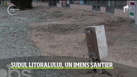 Sudul litoralului românesc, un imens șantier