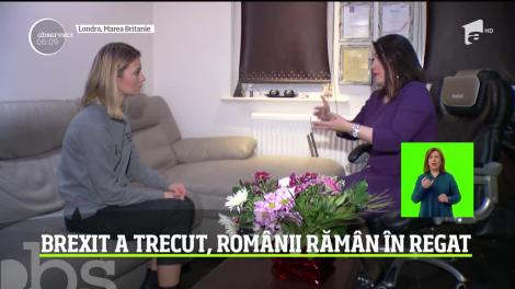 Brexit a trecut, românii rămân în Regat!