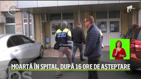 O femeie de 70 de ani din Constanţa a murit pe holurile Spitalului Judeţean, după ce a aşteptat 16 ore ca să fie consultată de medicii de la Urgenţă